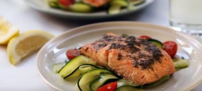 How to Make Salmon with Lemon and Dill
