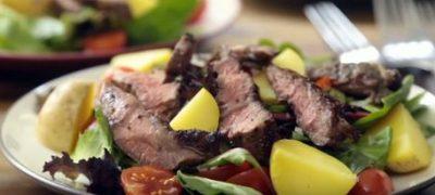 How to Make Steak and Potato Salad
