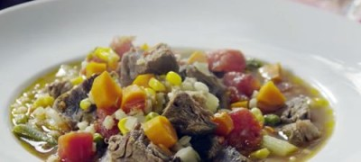 How to make Beef Barley Vegetable Soup