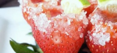 How to make Strawberry Margarita Shots