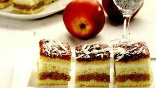 Prajitura cu mere si unt