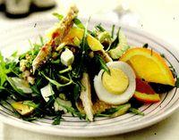 Salata cu rucola si portocale
