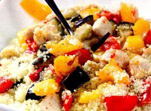 Salata de cuscus cu ardei iute