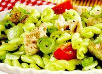 Salata de paste cu ton si sos pesto