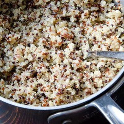 Quinoa cremoasa cu dovlecei