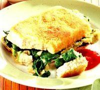 Snitele de tofu cu spanac