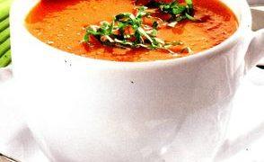 Supa de rosii cu razalai
