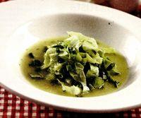 Supa de salata verde cu marar