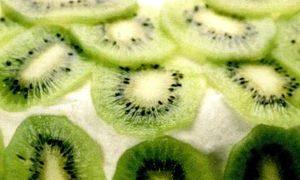 Suc de mango si kiwi