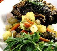 Tocana de miel cu legume si ciuperci