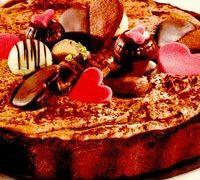 Tort cu crema de ciocolata neagra