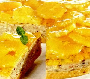 Tort spaniol cu portocale