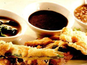 Peşte pane cu sos de soia