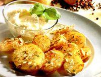 Cartofi picanti asezonati cu otet balsamic