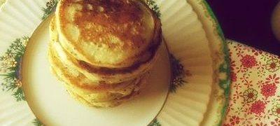 Clătite pane cu pui si mazare verde
