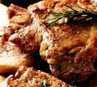 Cotlete de porc aromate