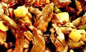 File_de_porc_cu_ananas_si_chili