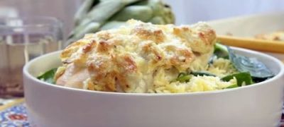 How to Make Artichoke Chicken (VIDEO)
