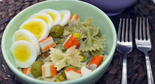 How to Make Farfalle Pasta Salad