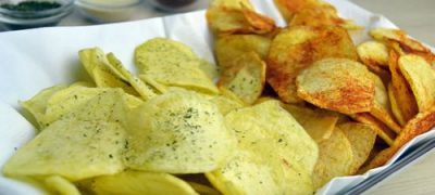Fruit salsa chips