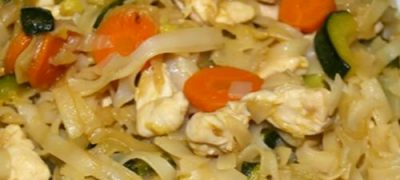 How_to_make_Rice_Noodles_with_Chicken