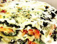 Lasagna cu spanac
