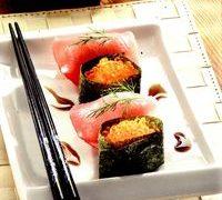 Sushi cu tonsi praz