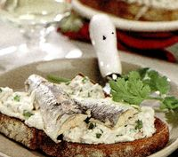 Pasta de sardine