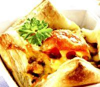 Carne în foietaj