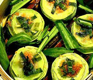 Zucchini umplut