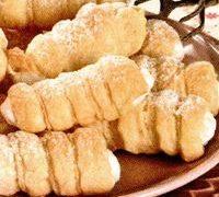 Rulouri delicioase cu crema de vanilie