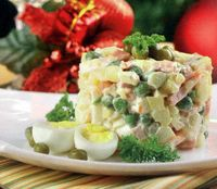 """Salată """"boeuf"""""""
