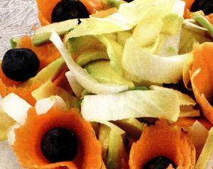 Salata de andive cu carne si maioneza