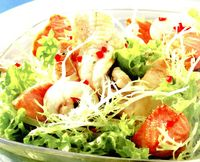 Salata de limba cu ton si verdeata