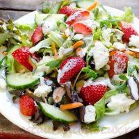 Salata de cruditati cu lipie