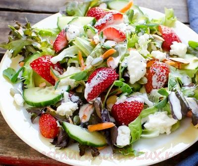 Salata de cruditati cu nuci