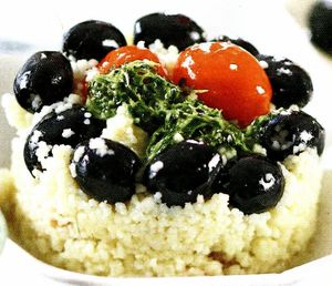 Salata cuscus de conopida