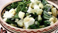 Salata de primavara cu leurda