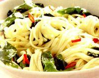 Spaghete cu spanac