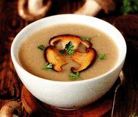 Supa cu ciuperci si patrunjel