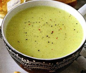 Supa crema de miel cu legume