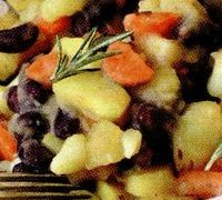 Tocana de cartofi cu fasole
