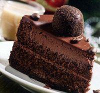 Tort fondant de ciocolata