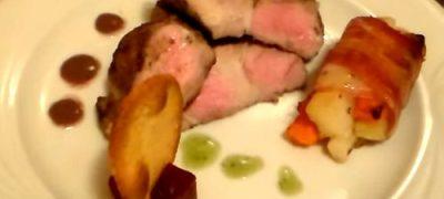 Ceafa de porc condimentata