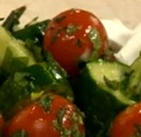 Salata de rosii cu sos picant