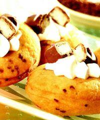 Gogosi cu ciocolata si cocos
