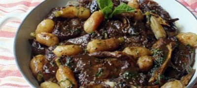 How to Make Braised Lamb with Radishes