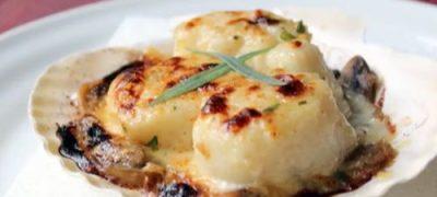 Fried Sea Scallops