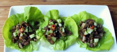 How to Make Crispy Duck Lettuce Wraps