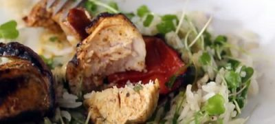 How to Make Grilled Chorizo & Chicken Skewers